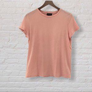 Topshop light pink t shirt
